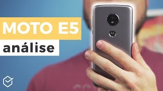 MOTOROLA MOTO E5 vale a pena? |  Analise / Review Completo!