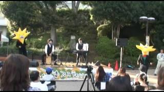 2011年10月16日 ならしの茜音フェスティバル 出演7組目 shakeの演奏とダ...