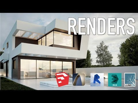 5 programas para hacer renders arquitectonicos youtube
