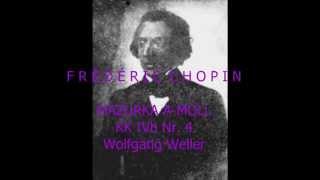 Chopin, Mazurka As-Dur op. posth. (KK IVb Nr. 4), Wolfgang Weller 2015.