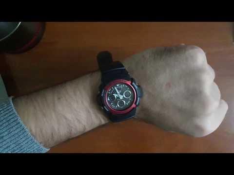88237b891632 Обзор: мужские часы Casio AW-591-4AER. Оригинальные часы Casio G ...