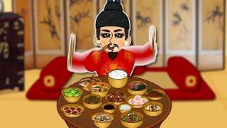 조선시대 왕의 하루 #3 | 기미상궁과 왕의 식사 | …