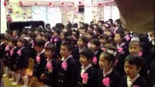 卒園式の歌(さよなら僕たちの幼稚園) 号泣