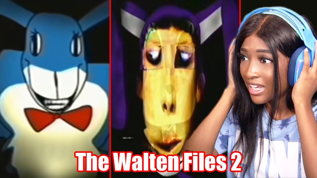 FROM BAD TO WORSE!! IT GETS CREEPIER!!!   Reacting to The Walten Files 2