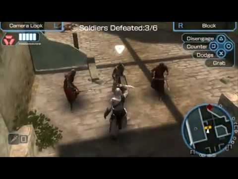 Assassins Creed Bloodlines Psp Gameplay Youtube