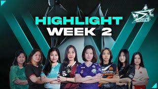 HIGHLIGHT WEEK 2 - REGULAR SEASON WSL SEASON 3