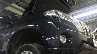Усунення несправності роботи блокування заднього диференціала на Toyota Land Cruiser Prado 150