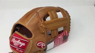 Rawlings Heart of Hide PROSPT Baseball Glove Horween Single Post Web 11.75 inch