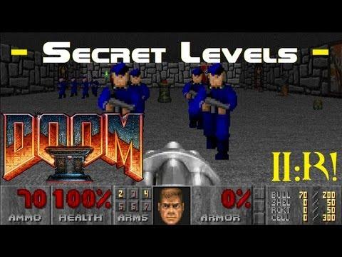 DooM II - Secret Levels (Wolfenstein & Grosse) (Ultra Violence - 100%)