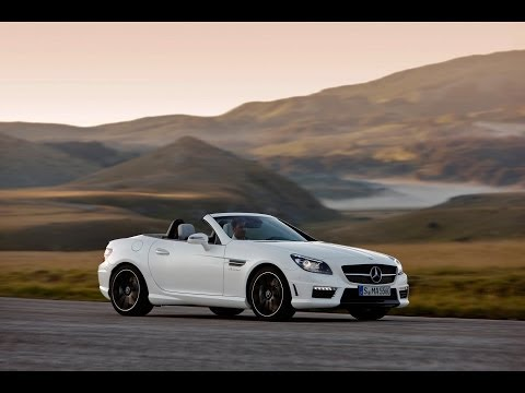 2015 Mercedes Benz SLK55 AMG Test Drive, Top Speed, Interior And Exterior Car Review