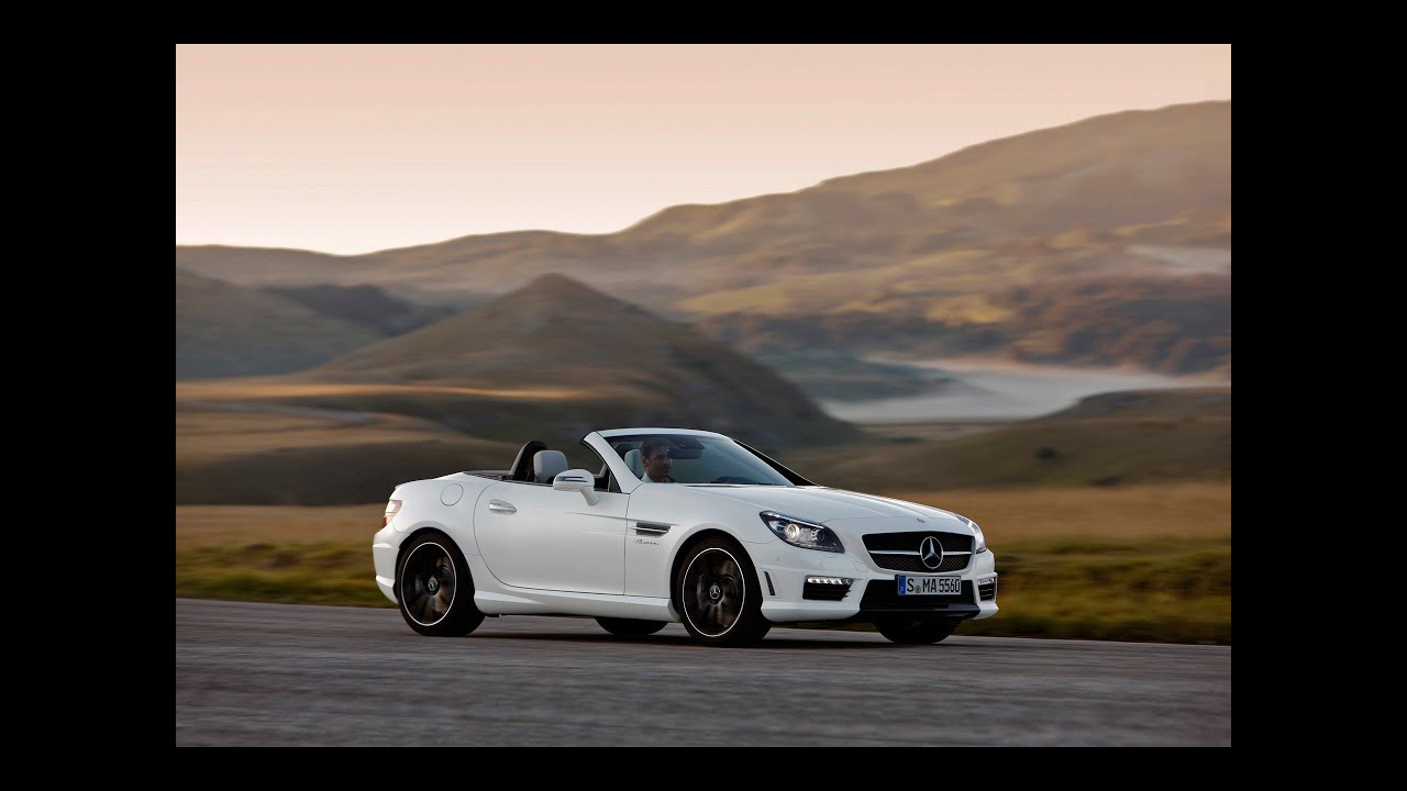 2015 mercedes benz slk55 amg test drive top speed. Black Bedroom Furniture Sets. Home Design Ideas