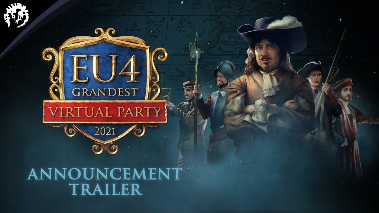 Europa Universalis IV: Grandest LAN Virtual Party - Announcement