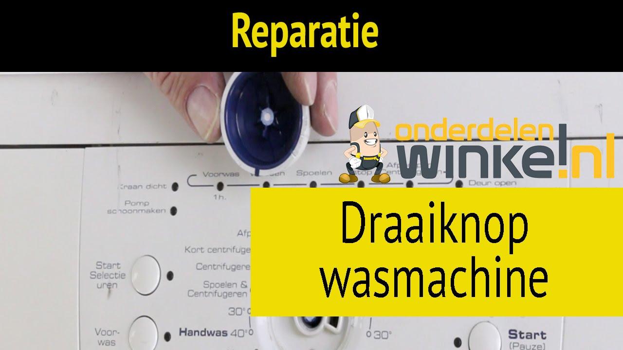 Top Draaiknop van uw wasmachine vervangen   Reparatie en Onderhoud DA55