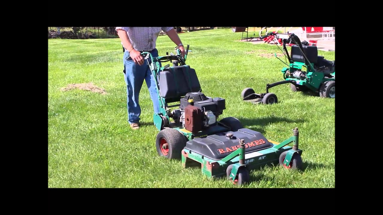 Ransomes Walk Behind Mower For Sale Sold At Auction May