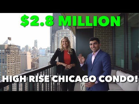Inside A $2,850,000 Luxury Lake Shore Drive Condo In Gold Coast Neighborhood Of Chicago!