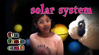 Solar System for kids : facts, fun and craft : Making a model - part 1