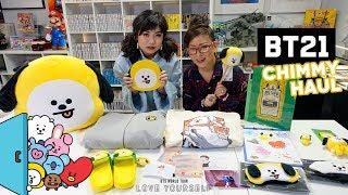 BTS & Line Friends BT21 CHIMMY HAUL