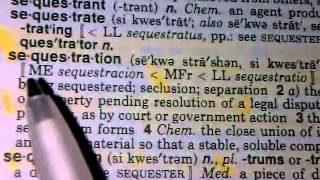 SEQUESTRATION 2013: NWO BEGINNING OF BABYLON