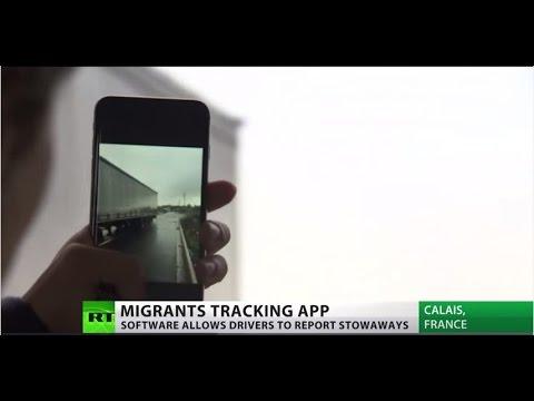 I-spy migrants: New app helps drivers report stowaways