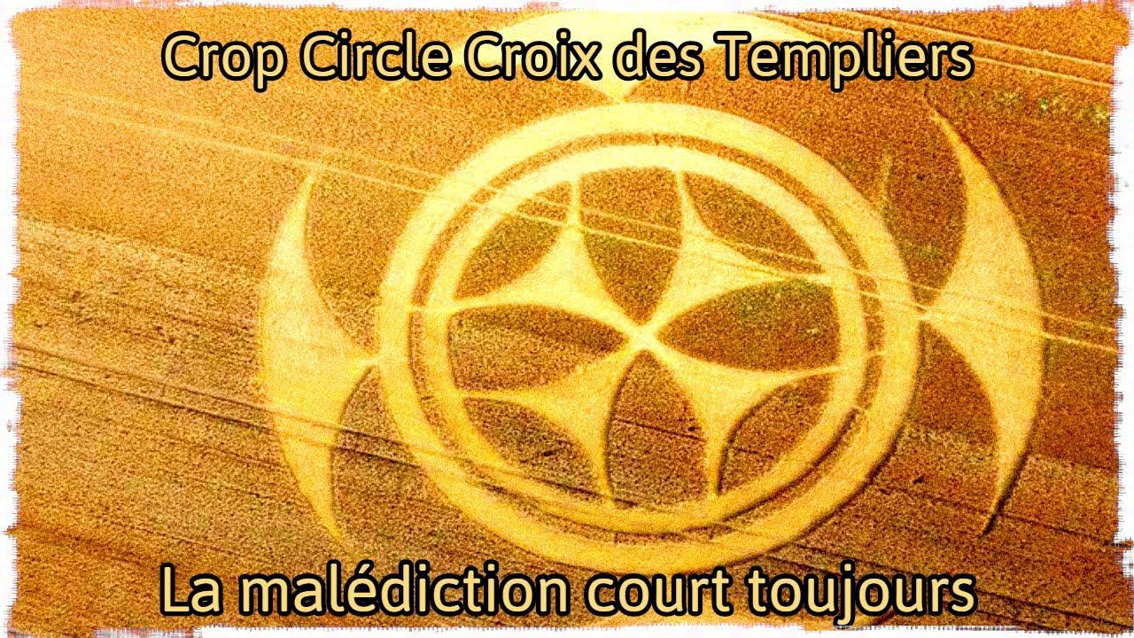 Crop Circle : La Croix des Templiers apparaît dans un champ