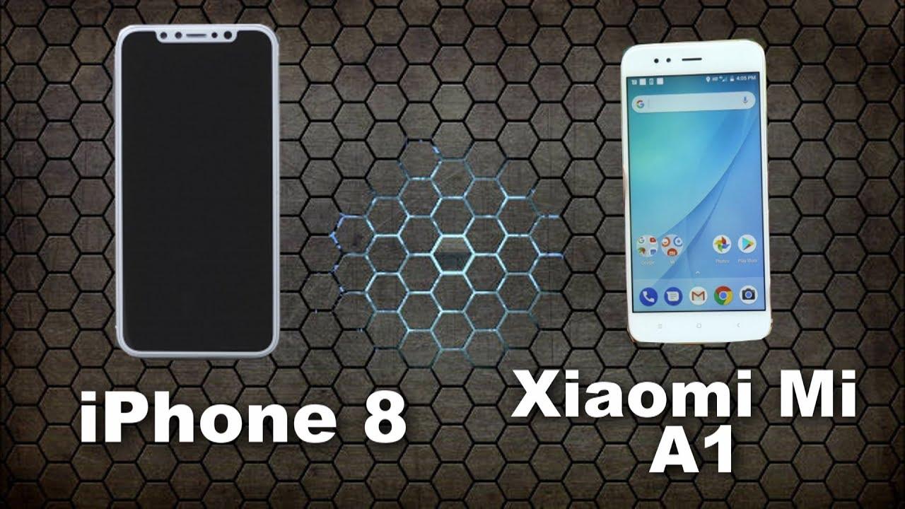 Xiaomi mi a1 rojo vs iphone 7