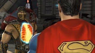 Mortal Kombat vs DC Universe - MK Story Cutscenes