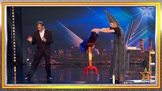 Este MAGO vuelve para hacer VOLAR COSAS por todo el teatro | Audiciones 7 | Got Talent España 2019