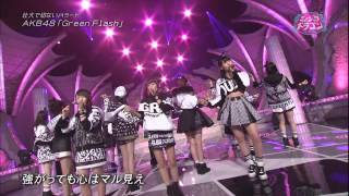150306 Music Dragon   AKB48   Green Flash + Talk