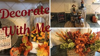 Kitchen Decorate With Me For Fall 2019 | Shout Outs
