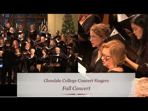 GCC Concert Singers: Fall Concert 2018