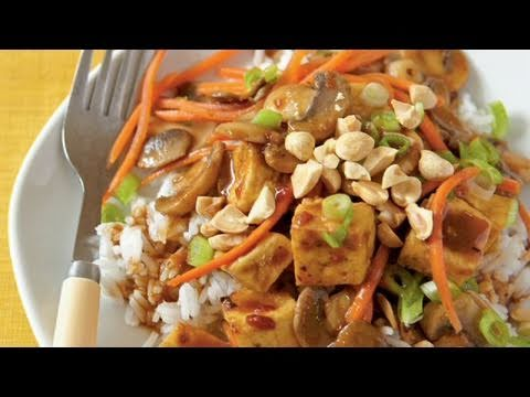 Szechuan-Style Tofu with Peanuts Recipe