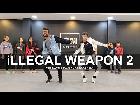 Illegal Weapon 2 - Dance Cover | Street Dancer 3D | Deepak Tulsyan Choreography