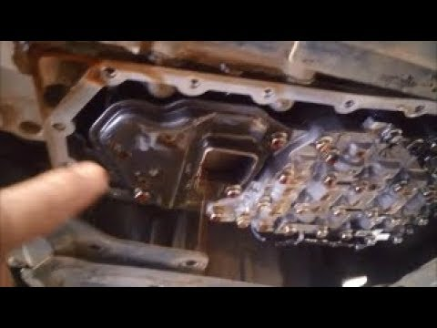 Mitsubishi Outlander CVT 6 Speed Automatic Transmission Filter Service How To DIY