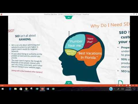 2017 02 15 19 00 SEO   Digital Marketing Series No  2