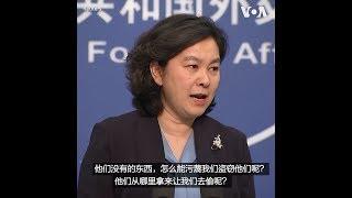 华春莹:中方绝不坐视不理美方科技霸凌主义