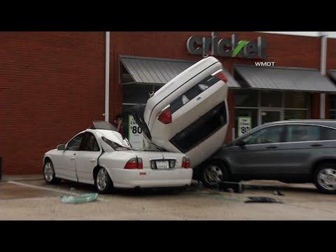 Likely Tornado Flips Cars in Eastern Maryland