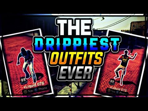 DRIPPIEST OUTFITS TO LOOK GOOD IN NBA 2K18 Drippy Outfit Sunday • Best Custom Outfits 2K18