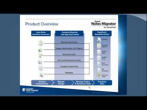 Notes Migrator for SharePoint - Partner Training - Session 1