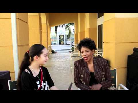 TONY WINNER MELBA MOORE interview with Pavlina in FLorida