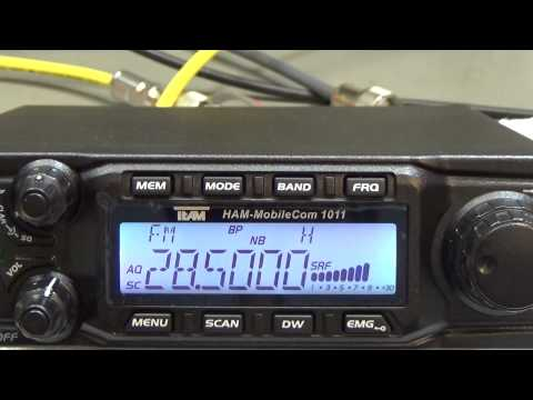 #53 10/11m Labor Product Test: Team HAM Mobilecom 1011, CRT Super Star 9900