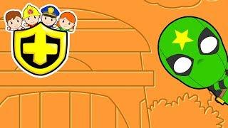 "🚓🚨 Cuti Heroes EP63 ""Green Ninja"" 🚨🚓"