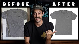 How to do T-shirt Product Photography (Shooting and Editing) screenshot 2