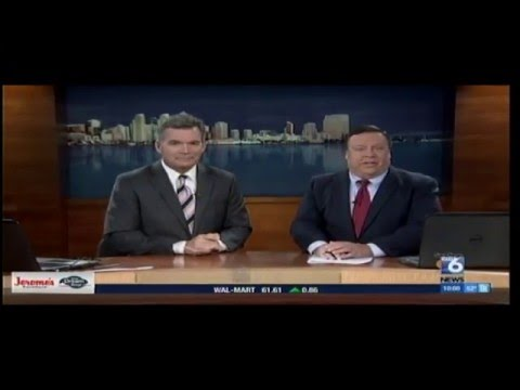 XETV-TDT - San Diego 6 News at 10 - 2015
