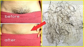 In Just 5 minutes Remove Pubic Hair Permanently |No Shave No Wax |Remove Private Part Hair Naturally