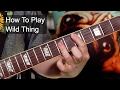 'Wild Thing' The Troggs Guitar Lesson