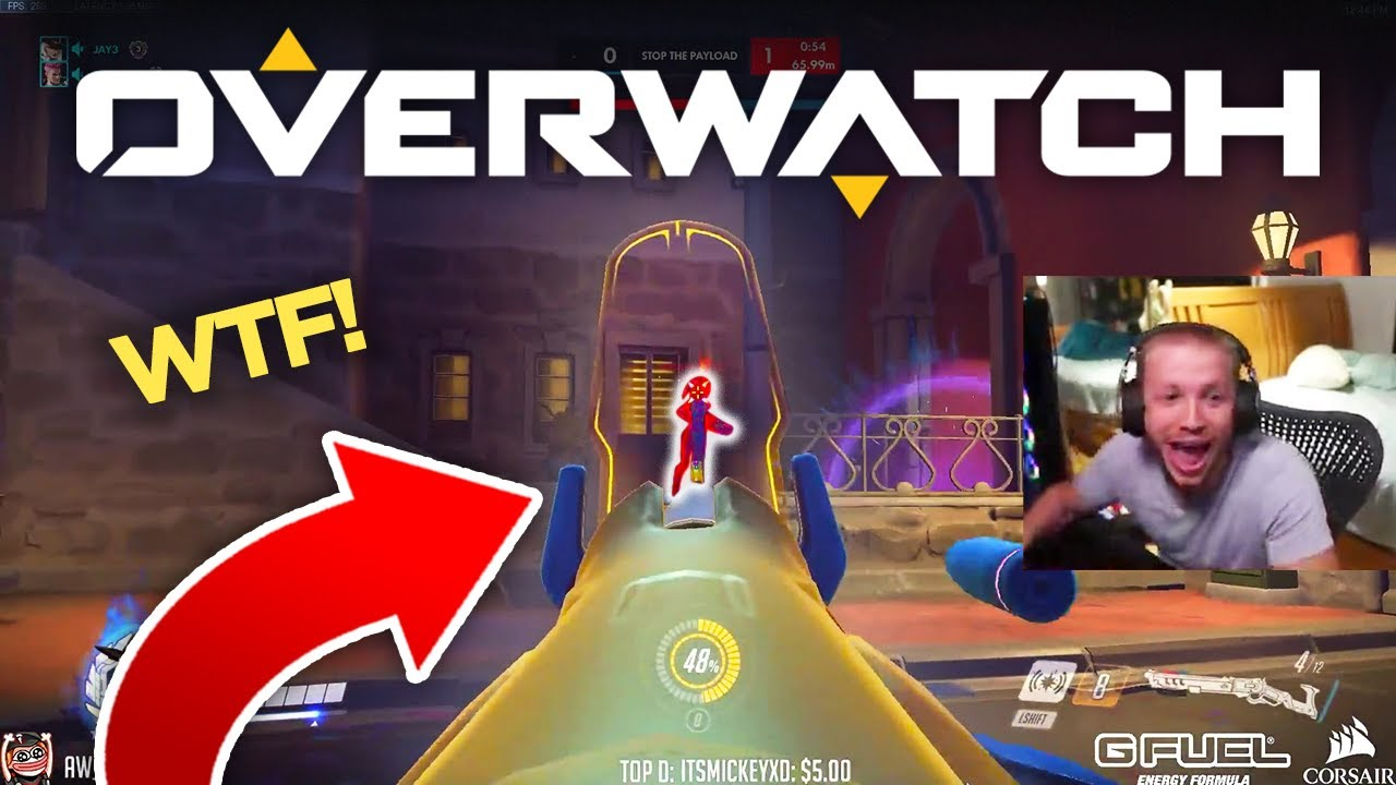 Overwatch MOST VIEWED Twitch Clips of The Week! #95 thumbnail