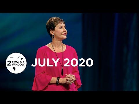 2 Minute Window - July 2020 | Joyce Meyer Ministries