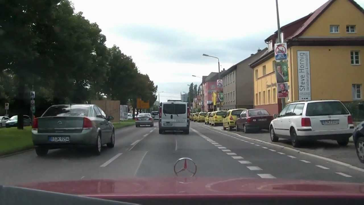 2011 Straßenzug Alt-Biesdorf - Alt-Friedrichsfelde - Frankfurter