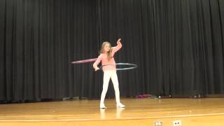 Audrey 5th Grade Talent Show- Hula Hoop