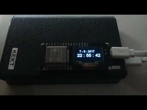 บอร์ดพัฒนา IoT พร้อมจอ OLED Wemos® Lolin32 ESP32 + OLED WiFi